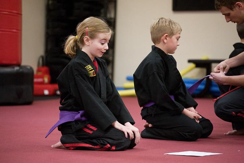 Karate Test - March 2, 2012