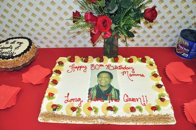 Edith Knox 80th Birthday Sept 20, 2009