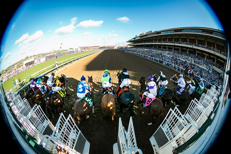 Good Magic (Curlin) wins the Breeders' Cup Juvenile at Del Mar on 11.4.2017. Jose Ortiz up, Chad Brown trainer, e Five Racing Thoroughbred and Stonestreet Stables owners.
