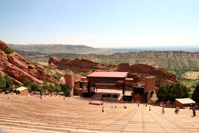 RED ROCKS!  Weekend home of the Avett Brothers!