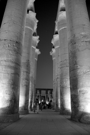 TEMPLE OF AMON-RA, LUXOR, EGYPT