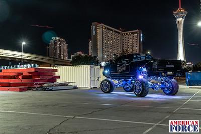 Tweety-Tires-Ceaser-Black-Blue-GMC-Denali HD 2500