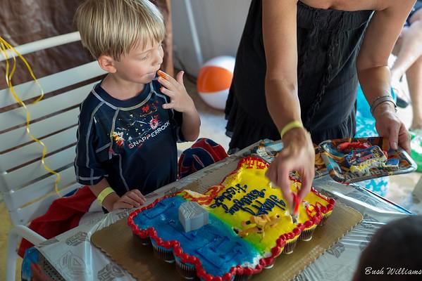 Fischer's 4th Birthday