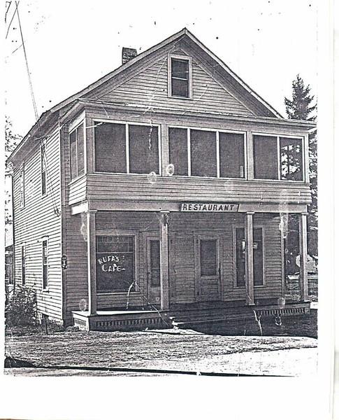 Rufa's Restaurant, Winthrop