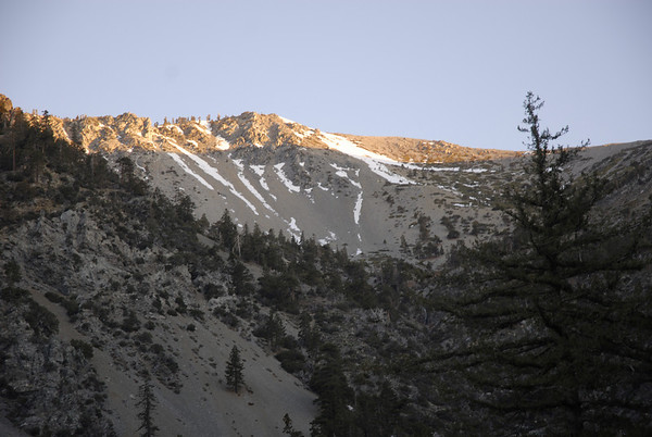 Mt. Baldy April 3, 2009