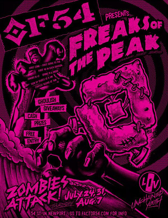 "Factor 54 ""Freaks of the Peak"" Contests"