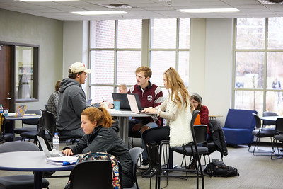 2019 UWL Murphy Library Students and Classrooms