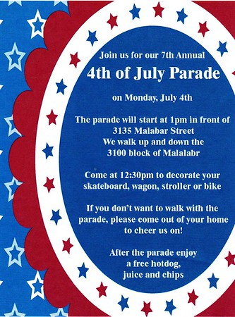 7TH ANNUAL MALABAR 4TH OF JULY PARADE - 07.04.16