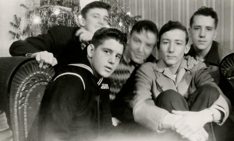 1944, Art with friends & Bernie