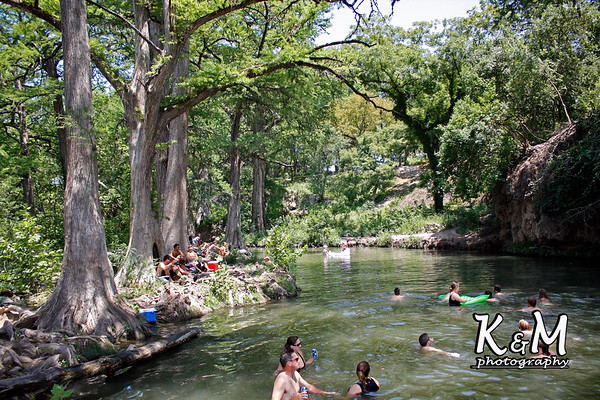 Krause Springs Swimming Hole