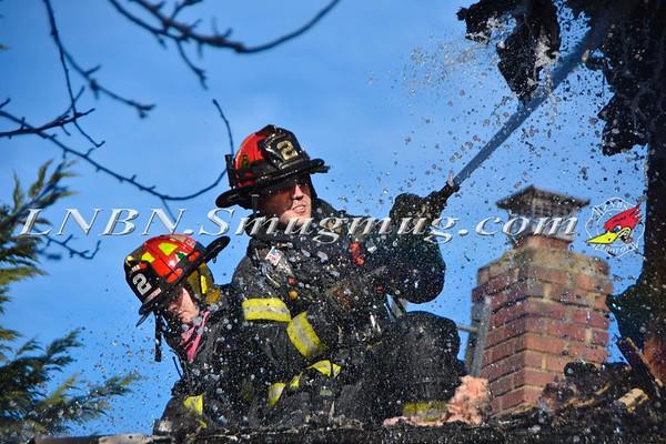 Wantagh F.D. House Fire 3230 Waterbury Drive 1-5-17