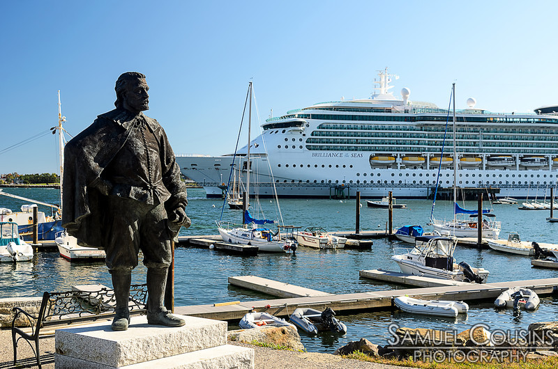 George Cleeve and the Brilliance of the Seas.