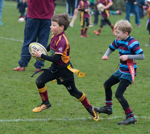 Under 8s tournament, Franklin's Gardens, 7 April 2018