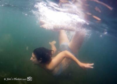 Ind - Adrianna T. Underwater - July 14, 2014