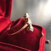 1.38ctw Antique Old European Cut Diamond 3-Stone Ring 19