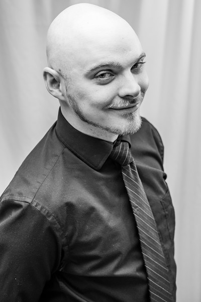 5.8.18 Johnny and George Head shots B and W-17.jpg