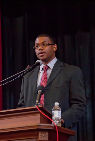 Johnson C Smith University's Lyceum Series Presents : Juan Williams of Fox News 1-20-11 by Jon Strayhorn