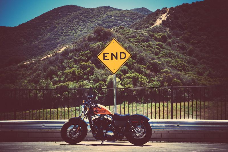 Brian Vintage Harley