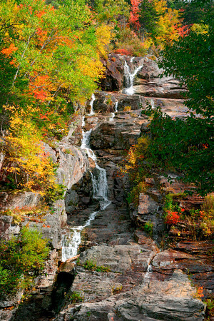 Silver Cascades, White Mountains of New Hampshire
