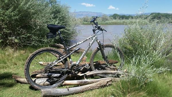 Albuquerque Bosque Bicycle Ride  7-4-19