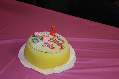 Keiras First Birthday Party