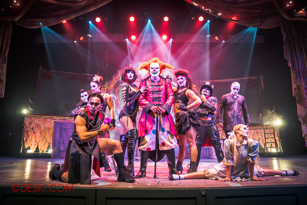 Halloween Horror Nights 6 - Jack's Recurring Nightmare Circus / Jack and the Maniacs center