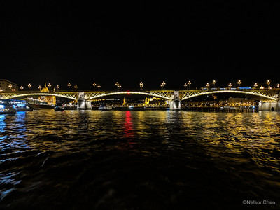 Evening Cruise on Danube, Budapest, Hungary