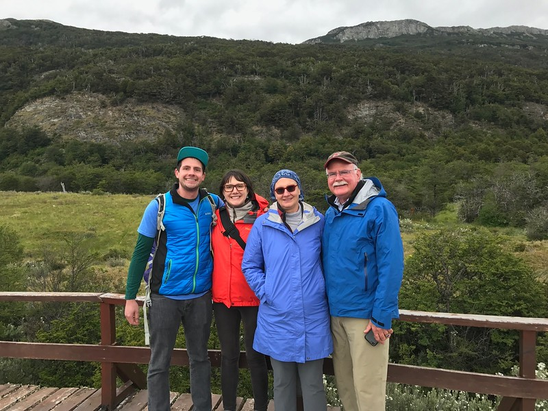 The Martin family in Ushuaia, Argentina - Jennifer Caputo