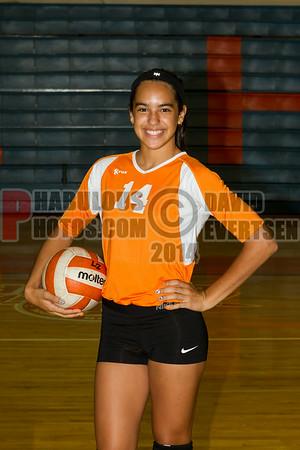 Girls JV Volleyball #14 - 2014