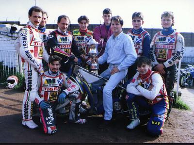 Glasgow Tigers 1988 to 2001