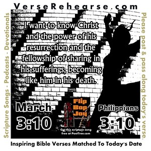 Verse Rehearse March