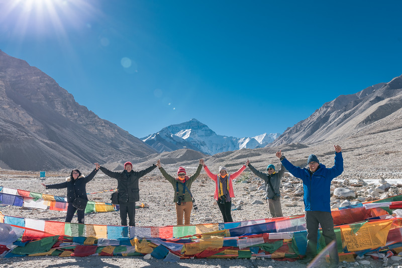 Everest Base Camp - Tibet Trip November 2018