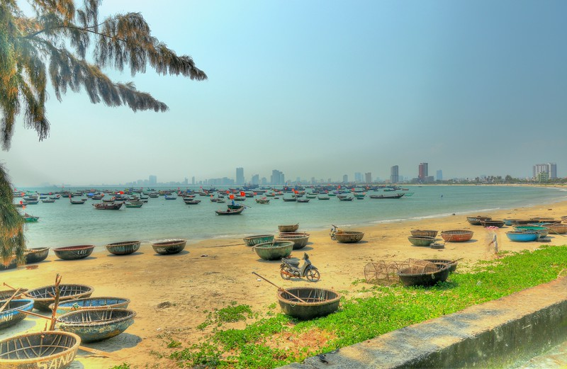 The city of Da Nang