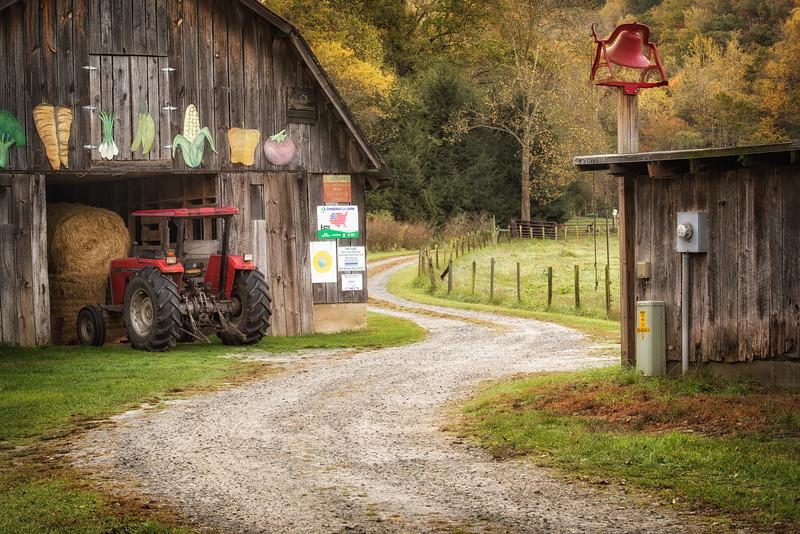 Early Fall 2013 in Transylvania county NC