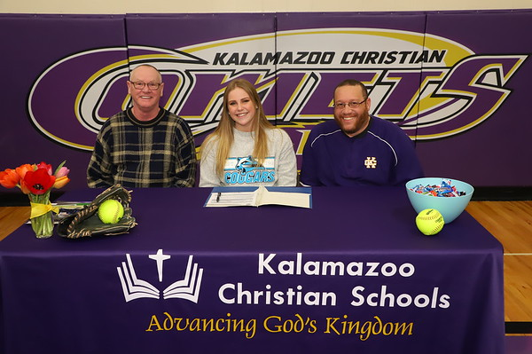 Signing Day Softball Jayme Koning KCHS 2/19/19