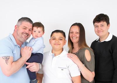 Adam, Kirsty & family