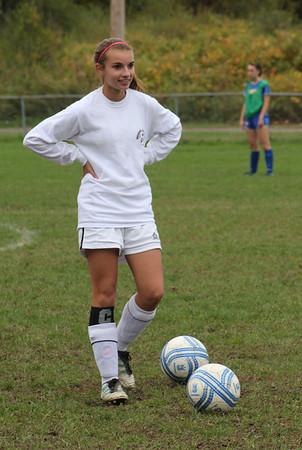 Varsity Girls Soccer vs Brookfield - 10/08/2012