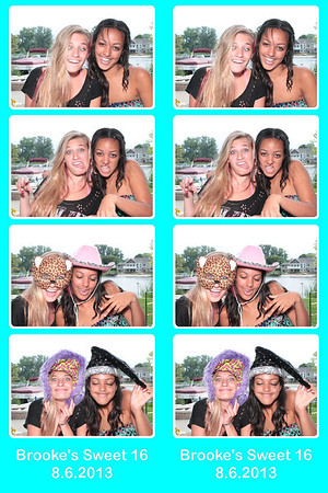 Brooke Sweet 16 Party 8.6.2013