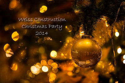 Weiss Construction Christmas Party 2014