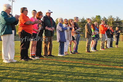 Lacrosse Girls Senior Night 4/27/12