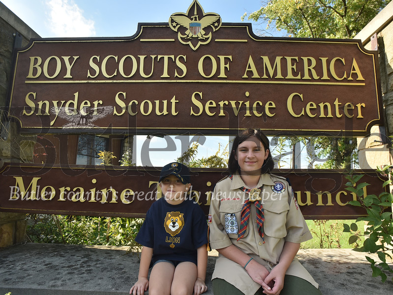 37401 Boy Scouts adding girls at the Boy Scouts of America Snyder Scout Service Center in Butler Twp