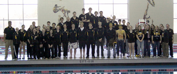2011-2012 Centerville HS Swimming and Diving