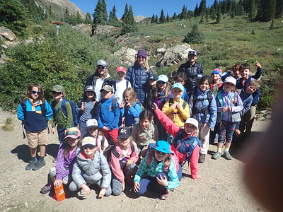 Second Grade fall Outdoor Ed 2019