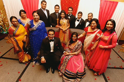 Deepak and Puja's Reception