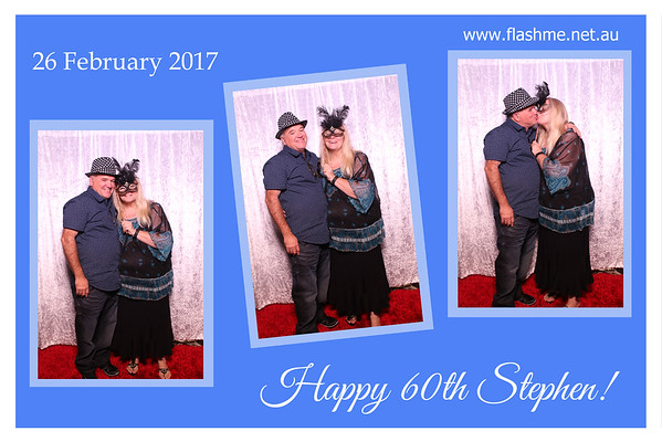 Stephen's 60th - 26 February 2017
