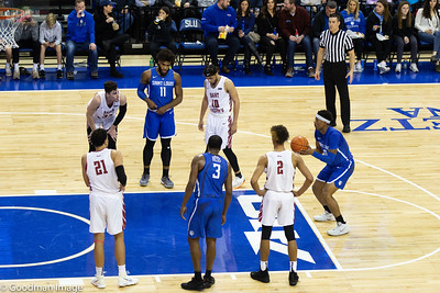 SLU Mens Basketball Game 1-18-19