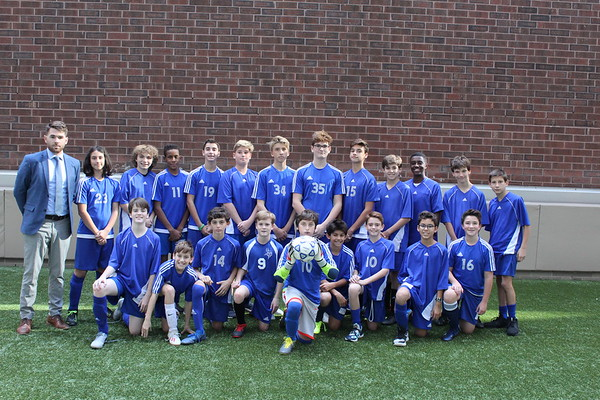 MMS Grades 7 & 8 Boys Soccer Fall 2019
