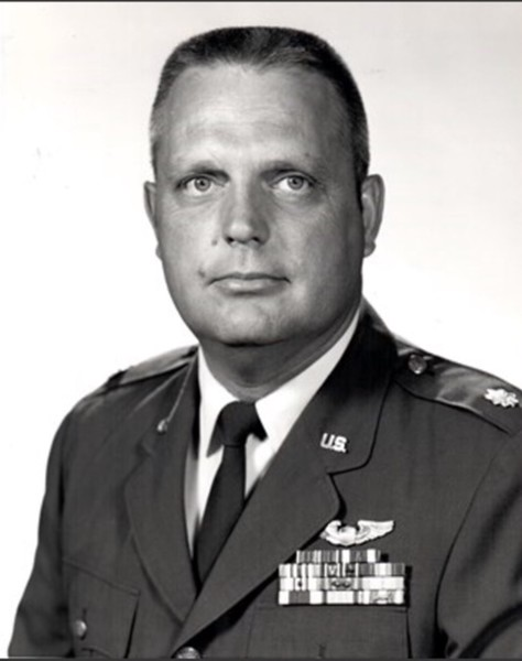 Col. Ronald F. Kiber, U.S. Air Force, grandfather of Shannon Lombardo.