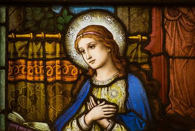 1. The First Joyful Mystery - The Annunciation