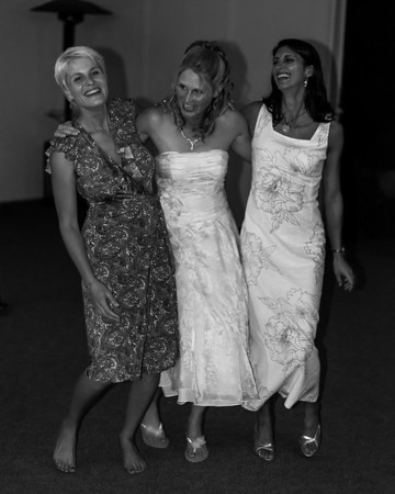 Erica's Wedding II (B&W)